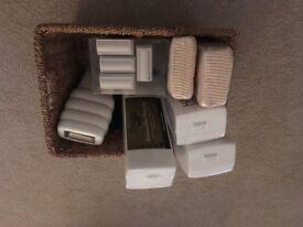 Wax machine with accessories