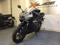 Yamaha YZF R125 Manual Sports Motorcycle, ABS, Low Miles, Good Condition, ** Finance Available **