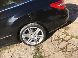 "18"" Mercedes amg alloys & tyres !"