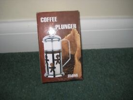 coffee plunger - new