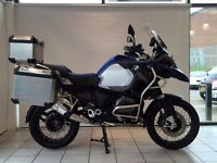 SOLD SOLD SOLD!!!!!2014 BMW R1200GS Adventure TE ---- Save £300 ---- Price Promise !!!!