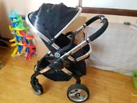 Icandy peach 2 black pram/pushchair