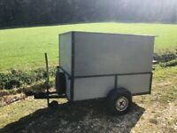 Box trailer 6x4