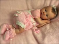 Beautiful reborn baby doll India - 2-3 month sculpt only £220