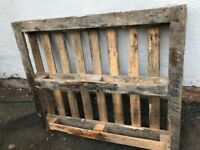 Wooden pallet - free wood