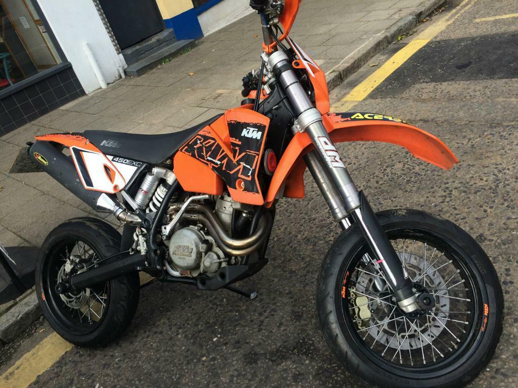 2003 ktm 450 exc supermoto in witham essex gumtree. Black Bedroom Furniture Sets. Home Design Ideas