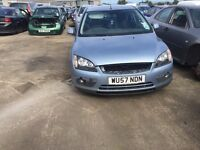 2007 ford focus, 1.6 diesel, breaking for parts only, all parts available