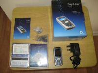 Boxed O2 X1B Pay AS You Go Mobile Phone.
