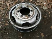 16 inch wheel for iveco daily. Fits rear twin wheeler