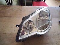 VW Polo 2005-09 Nearside/Passenger Front Headlight/Headlamp