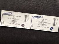 SWAPPING 2 x Standing Tickets - Monday 13th March (Brixton Academy)
