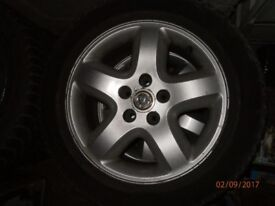 16 inch 4x wheels rims tyres vauxhall vectra c fits omega and other cars 5x110