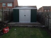 Yardmaster Metal Shed 9.4ft x 7.5ft with Floor