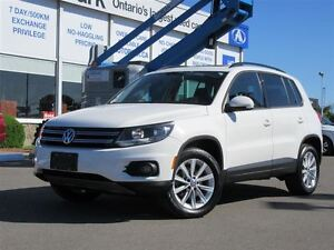 2013 Volkswagen Tiguan S|Panoramic Roof|Heated Leather|Alloys|Bl