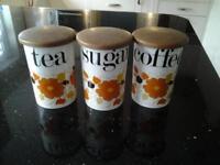 Carnaby Daisy storage jars
