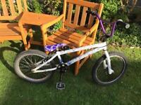 BMX bike with UMF Brad ST4 frame