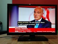 Celcus 22 inch slim Full HD LED TV built in Freeview, perfect condition.