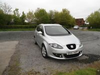 Seat ALTEA XL 2.0 TDi DSG Auto with Black leather interior