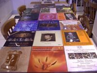 Classical Records x 20. Collection. Various Artists. Vintage. Retro. 12'' 33 rpm. Debussy, Elgar....