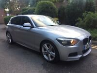 BMW 120D M SPORT 2013-12 MONTHS MOT-FULL SERVICE HISTORY-RARE CAR-FIRST TO SEE WILL BUY