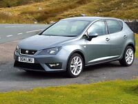 2014 SEAT Ibiza CR FR 1.6HDi Diesel, 27,000 Miles with History and SatNav. SEAT Warranty, £30 Tax