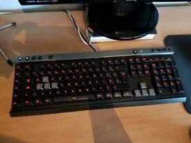 Corsair K30 Red LED Gaming Keyboard