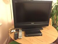 Sony Bravia KDL-26P2530 LCD TV with freeview box