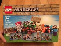 Mine craft Lego crafting box 8 in 1