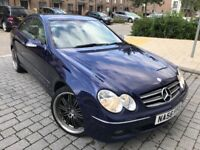 Mercedes-Benz CLK 2.1 CLK220 CDI Avantgarde Coupe Diesel*Automatic*Long Mot*Just serviced*hpi clear