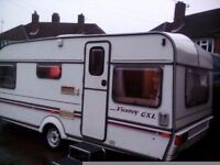 1993 ABI Viceroy GXL 4 berth caravan with modern full modern awning for QUICK SALE !!!