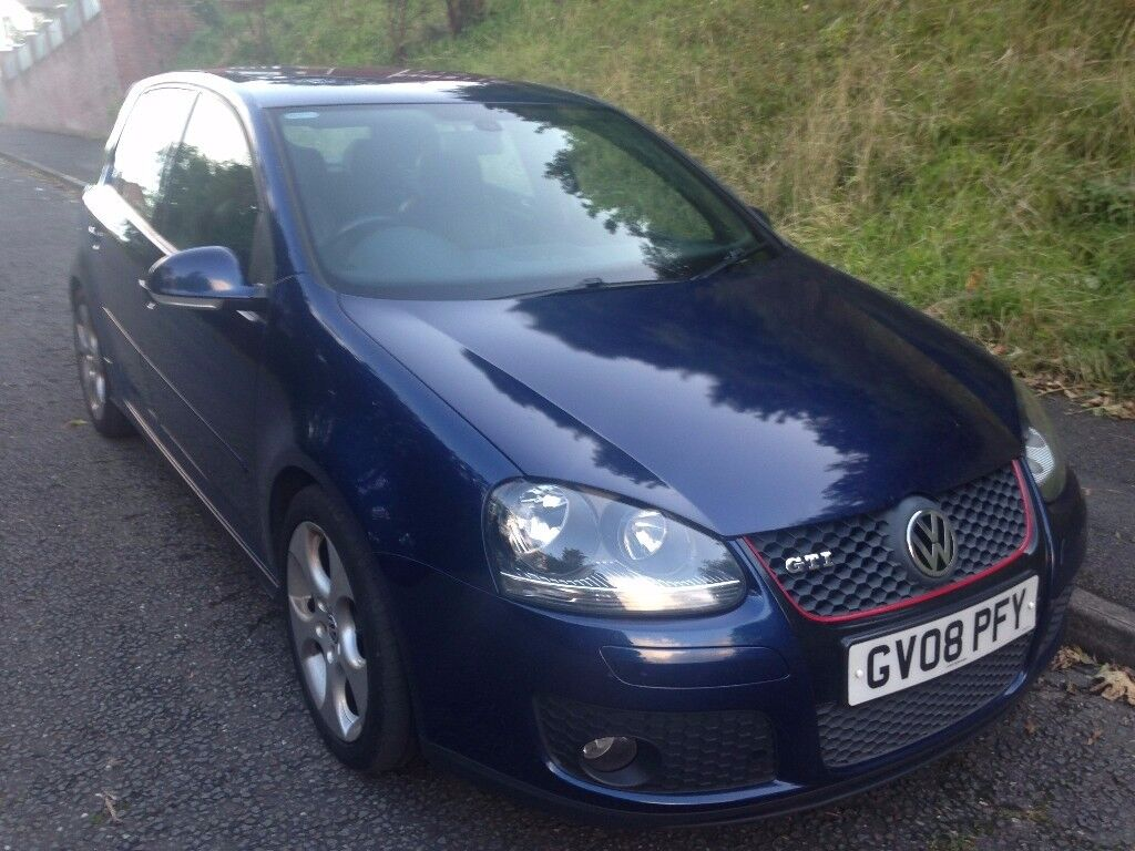 2008 VW Golf TFSI GTi 5 Door, 6 speed. Full black leather, dual climate control. (cambelts changed}