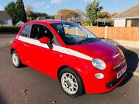 2008 FIAT 500 SPORT 1.2 PETROL 67,000 MILES VERY LOW TAX AND INSURANCE