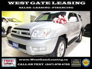 2004 Toyota 4Runner LIMITED | LEATHER | CERTIFIED |