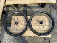 "Mavic XM117 Wheelset MTB 26"". Continental King. Great Condition!"