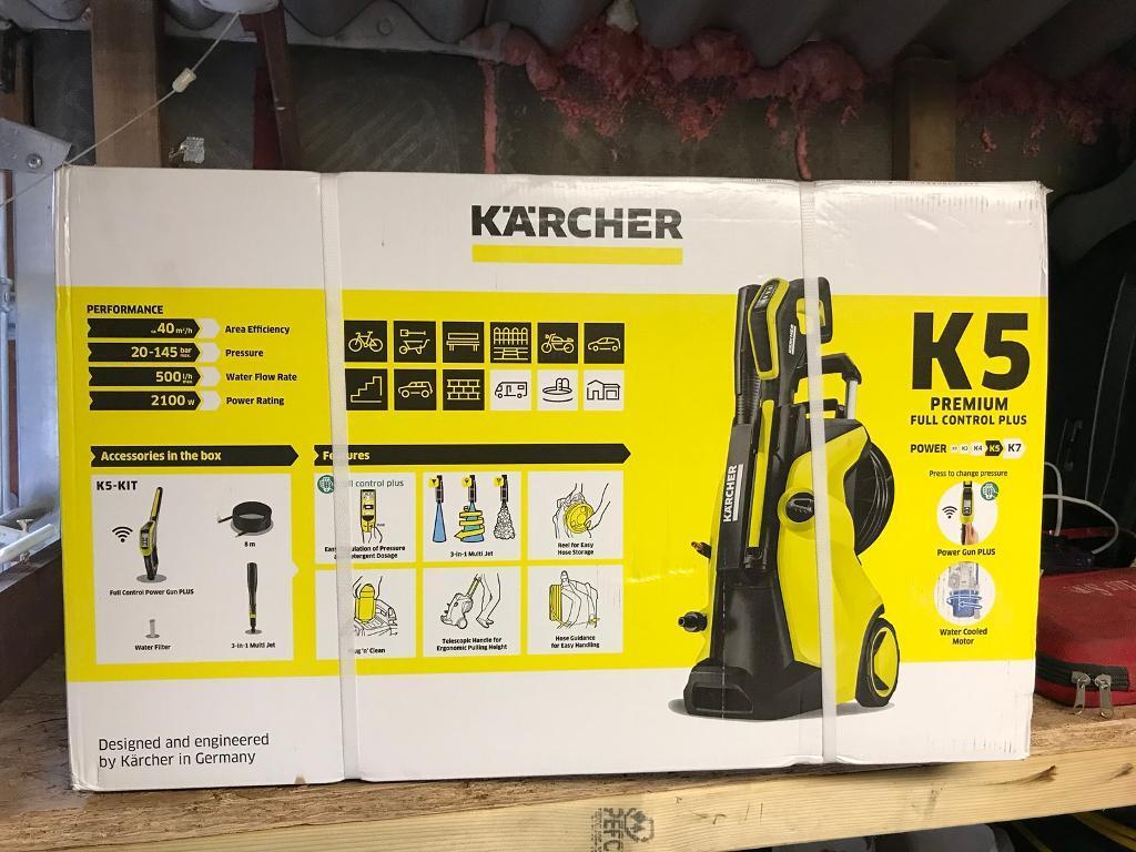 karcher k5 premium full control plus in ilford london gumtree. Black Bedroom Furniture Sets. Home Design Ideas