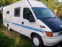 Iveco Daily turbo diesel camper van, motorhome, campervan, motorcross van.