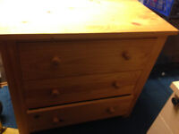 chest of drawer in real wood