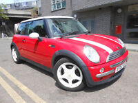 MINI COOPER 1.6 low mileage New MOT half leather Real Headturner