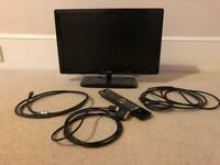 19' Logik TV + Controller + HDMI cable + aerial cable + HDMI-Scart