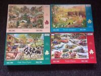 Large collection of Jigsaw puzzles