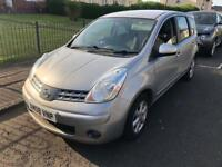Nissan note spare or repair