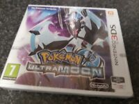 Brand new and sealed nintendo 3ds pokemon ultramoon