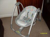 Baby swing by ingenuity