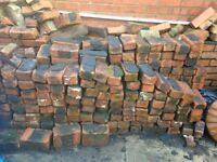 Genuine 1930's Solid Red Building Bricks Available Top Quality - £10/m2