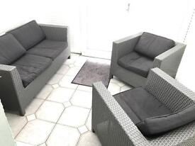 Conservatory Furniture 3 piece set By M&S Sun Room