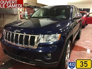 2012 Jeep Grand Cherokee LIMITED,CRUISE ADAPTATIF,SIÈGES VENTILÉ