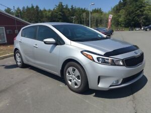 2017 Kia Forte 2.0L LX+ Hatchback. Air heated seats, camera.