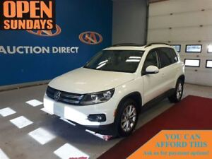 2015 Volkswagen Tiguan AWD! LEATHER! PANO SUNROOF! FINANCE NOW!