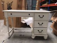 Vintage cottage style ivory desk, perfect for child's bedroom