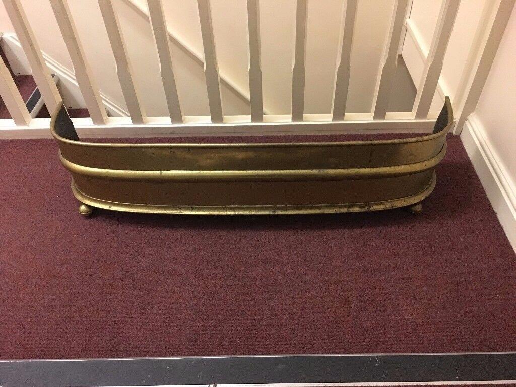 antique brass fender